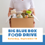 Big Blue Box Food Drive Flyers
