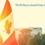 Thrift Store Closed Over Canada Day