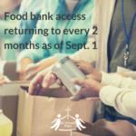 Food bank access