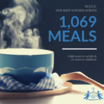 July Soup Kitchen Stats