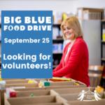 Seeking volunteers for Big Blue Food Drive