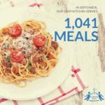 September Soup Kitchen Stats